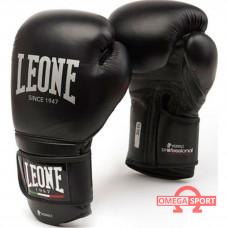 Боксерские перчатки 10 унц кожа Leone