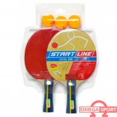 Ракетка набор  для настольного Start Line  Level 200