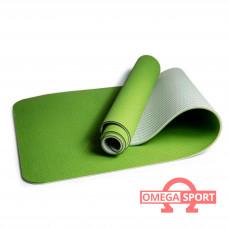 Коврик для йоги и фитнеса TRE YOGA