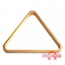 Треугольник для бильярда деревянный